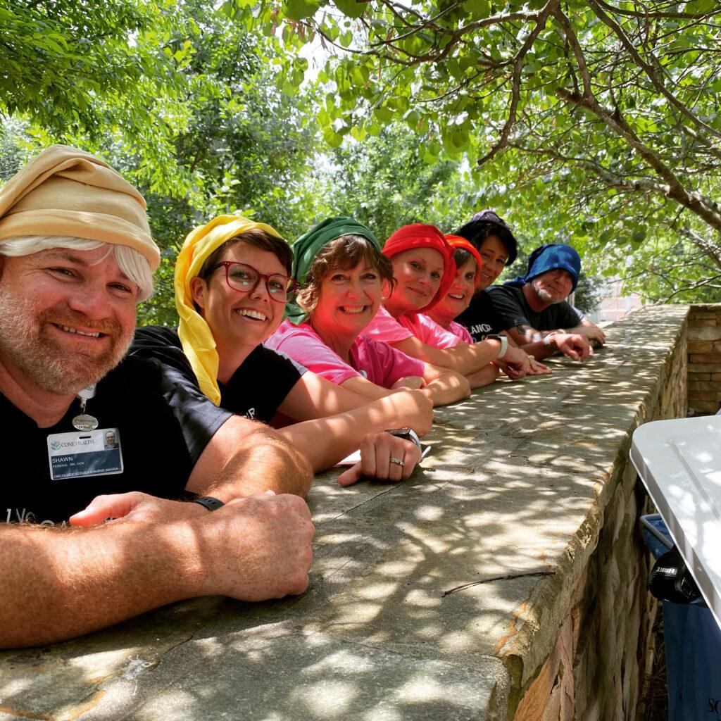National Cancer Survivor Day! The seven dwarves of Alamance Regional Medical Center